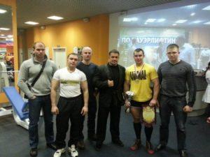 Открытый чемпионат Санкт-Петербуга по пауэрлифтингу 7-9 декабря 2012 г.