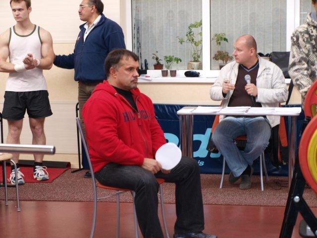 Открытый турнир по жиму лежа 2012 в Гатчине