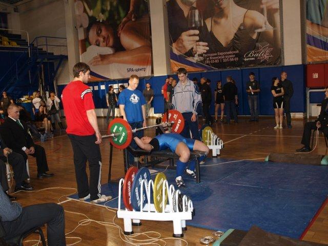 Открытый Чемпионат Санкт-Петербурга 2012 по жиму лежа